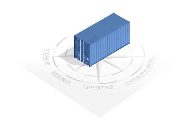 Container: storage/ refeers / logistics / lliving and more