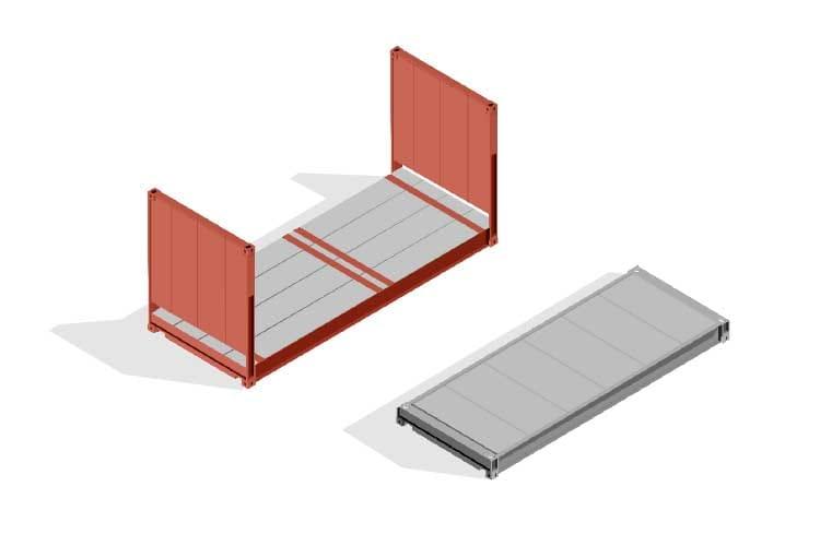 Container Flat Rack e Platform