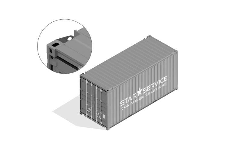 Container vendita noleggio Offshore DNV