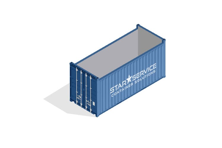 Container vendita noleggio Open Top